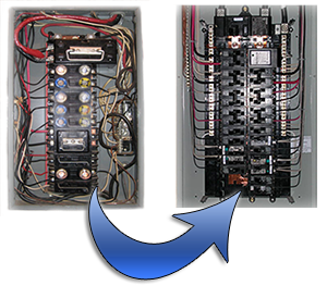 panel upgrades for your Phoenix lights and electrical system